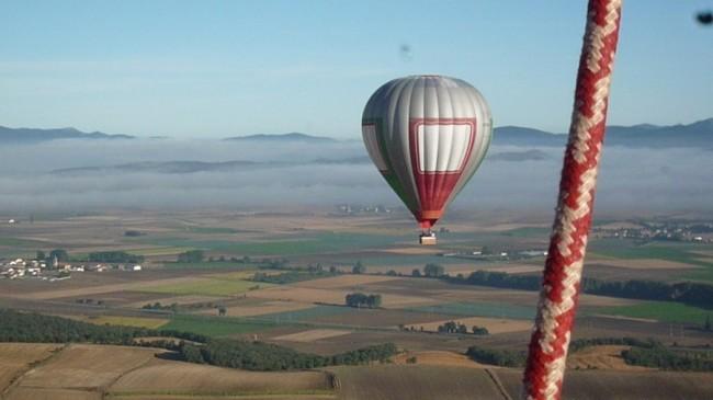 Vuelos en globo por La Llanada Alavesa y La Rioja en Septiembre 2013