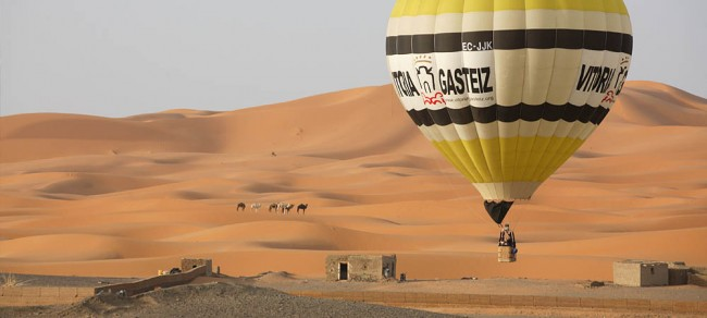 Volando por Marruecos